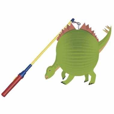 Dinosaurus bol lampion halloween lampionstokje