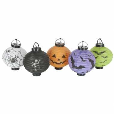 Halloween halloween decoratie lampionnen setje stuks