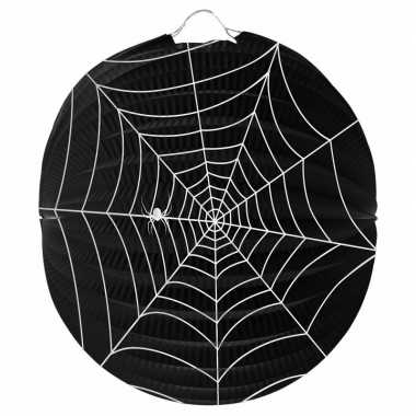 Halloween spinnenweb lampion