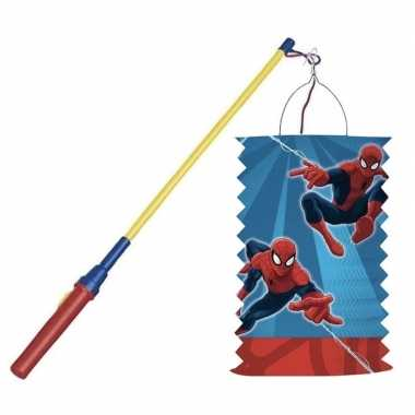 Marvel spiderman treklampion halloween lampionstokje