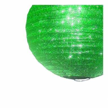 Unieke groene lampion halloween glitters