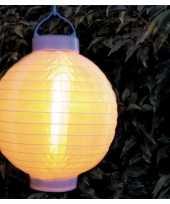 X stuks luxe solar lampion lampionnen wit halloween realistisch vlameffect